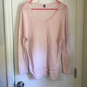 Light pink lightweight sweater